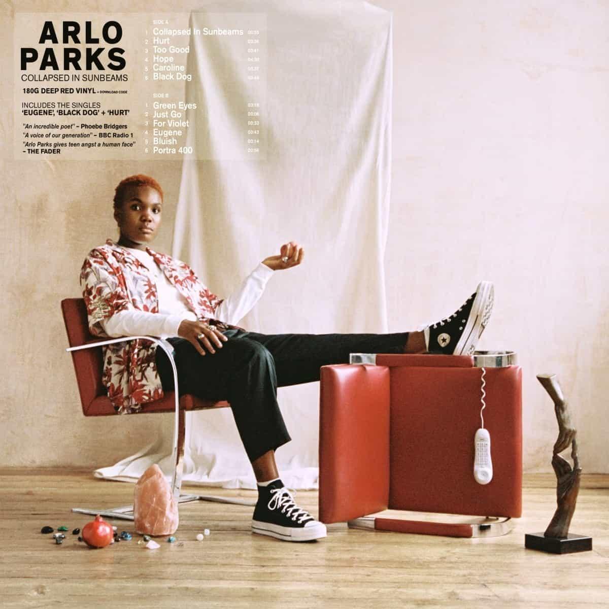 Arlo Parks: Collapsed In Sunbeams. Vinyl & CD & tape