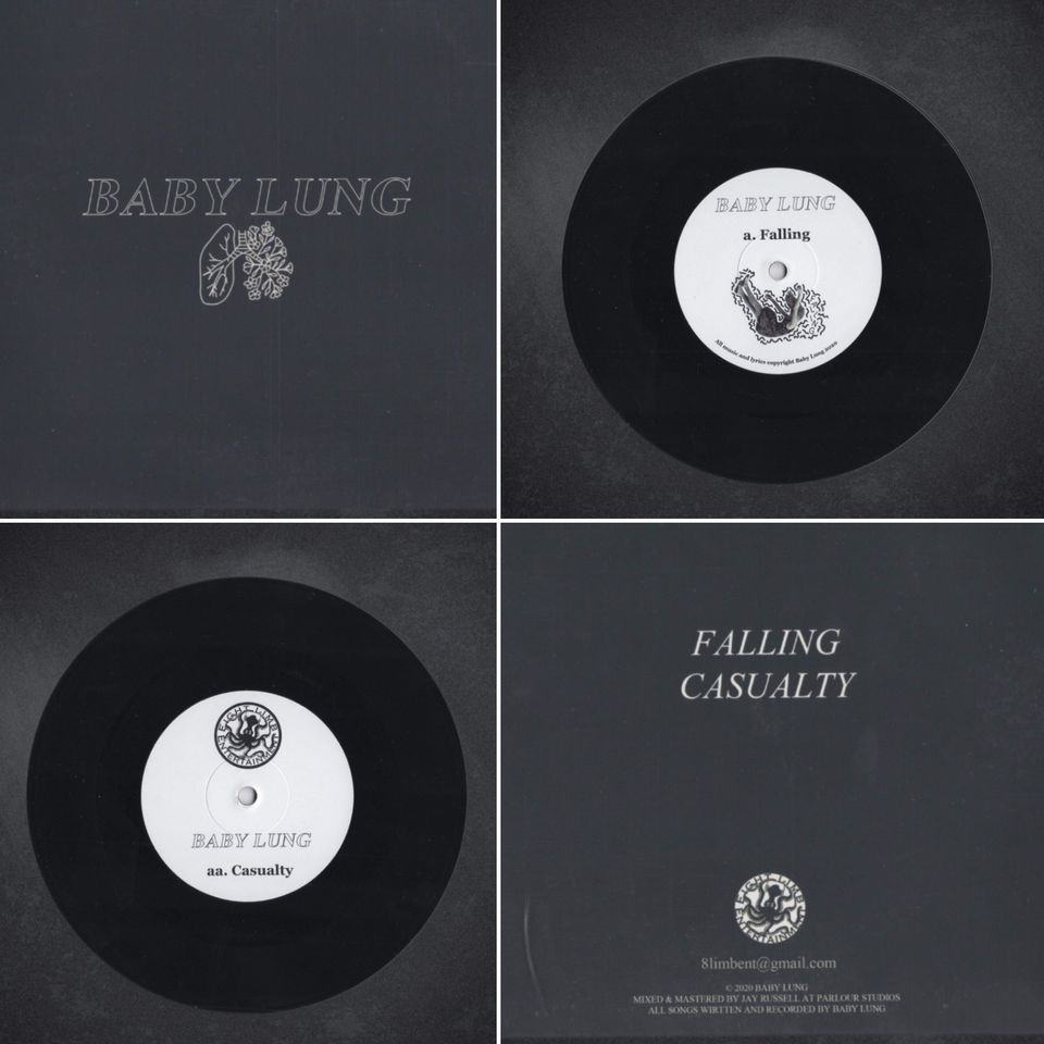 Baby Lung: Lung Falling / Casualty. Vinyl. Norman Records UK