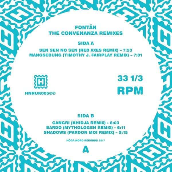 The Convenanza Remixes by Fontan