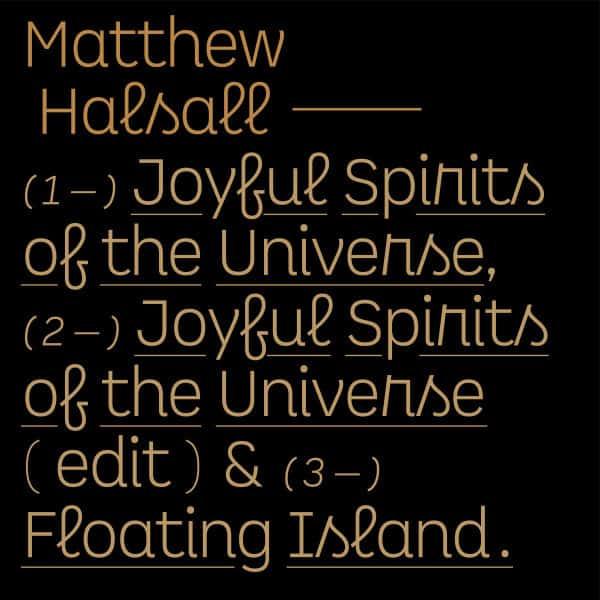 Joyful Spirits of the Universe by Matthew Halsall