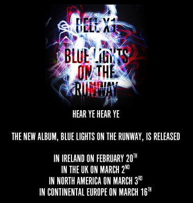 Blue Lights On The Runaway by Bell X1