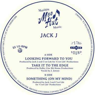 Looking Forward to You / Take It to the Edge / Something (On My Mind) by Jack J
