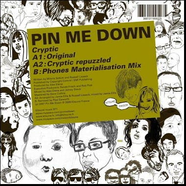 Cryptic by Pin Me Down