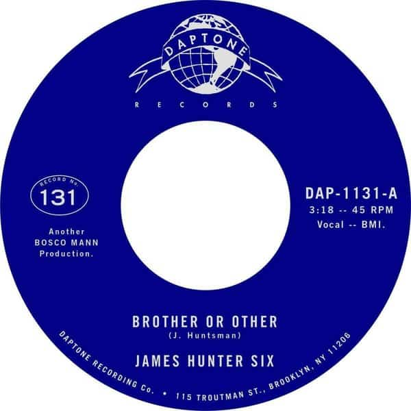 Brother Or Other / Never by The James Hunter Six