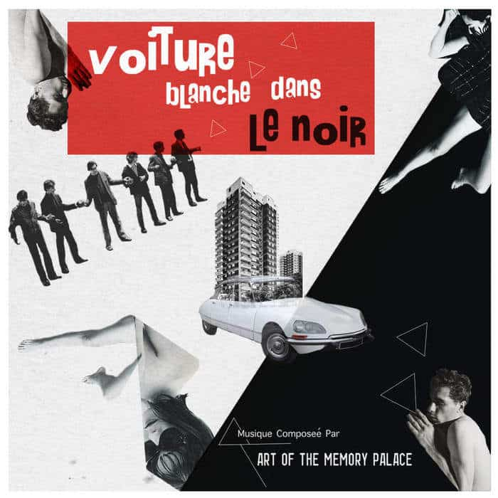 Voiture Blanche Dans Le Noir by Art Of The Memory Palace