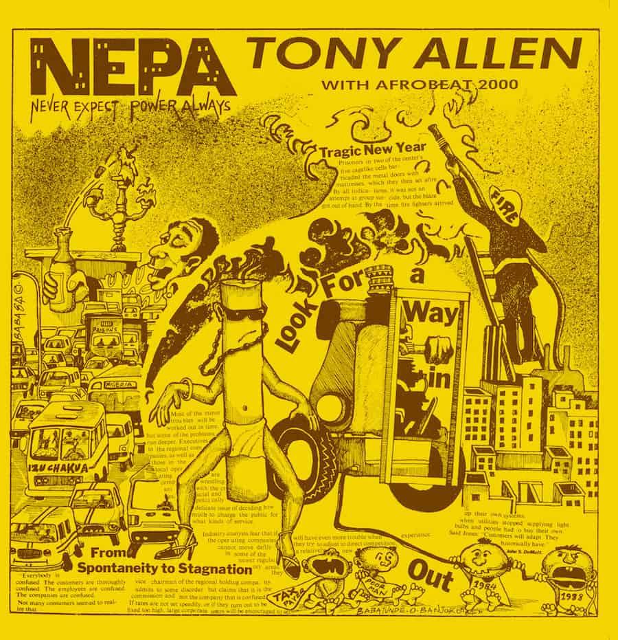 N.E.P.A by Tony Allen & Afrobeat 2000