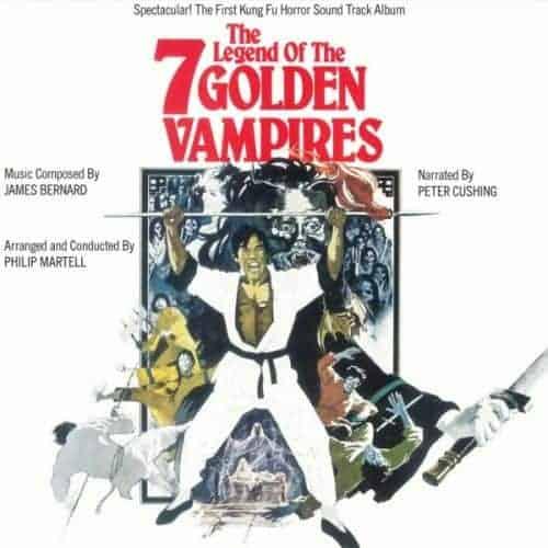 The Legend Of The 7 Golden Vampires by James Bernard, Philip Martell, Peter Cushing