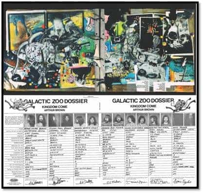 Galactic Zoo Dossier by Arthur Brown's Kingdom Come