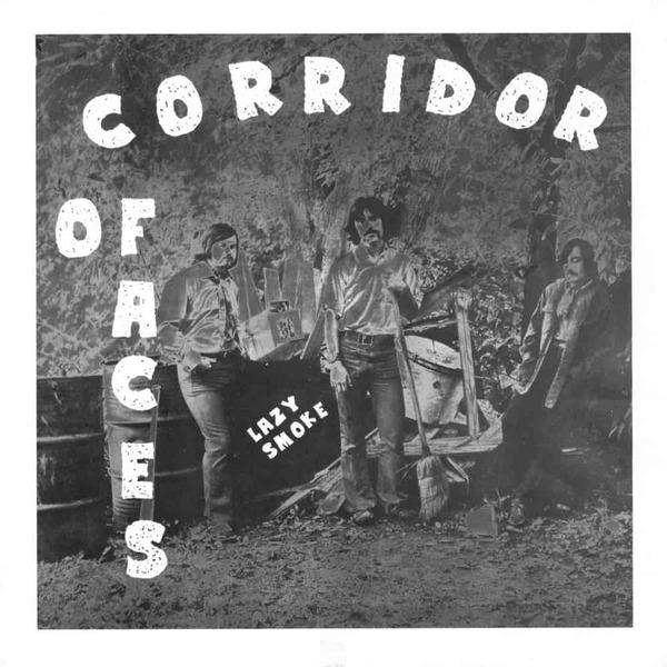 Corridor of Faces by Lazy Smoke