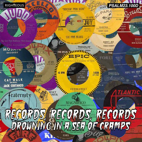 Records, Records, Records: Drowning In A Sea Of Cramps by Various
