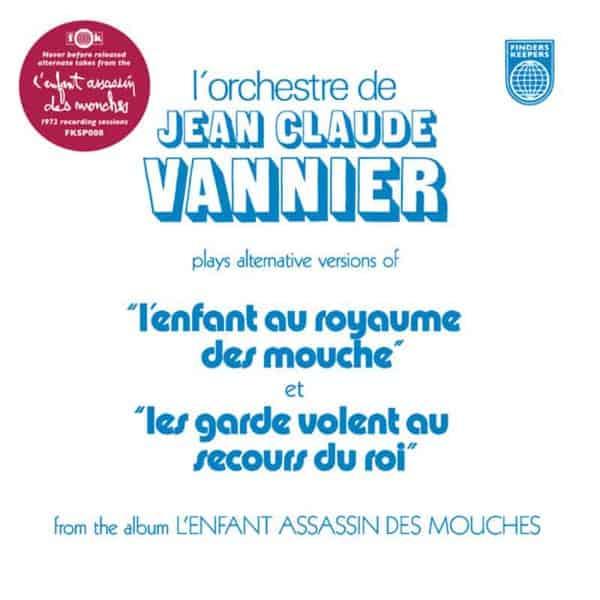 L'Enfant Assassin Des Mouches Alternate Takes by Jean-Claude Vannier