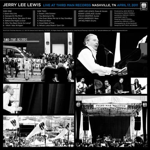 Live At Third Man by Jerry Lee Lewis