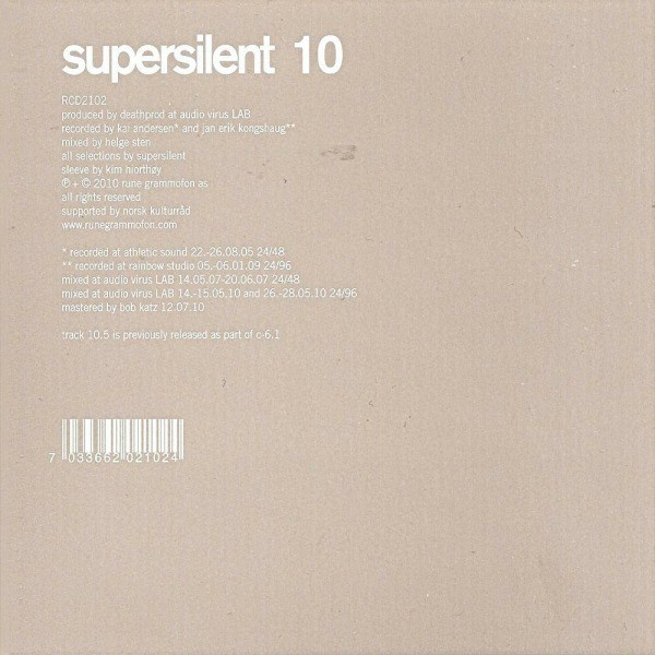 10 by Supersilent