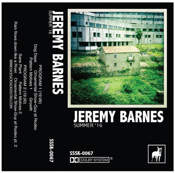 Summer '16 by Jeremy Barnes