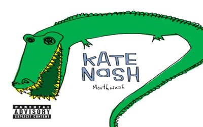 Mouthwash/ Stitching Leggins by Kate Nash