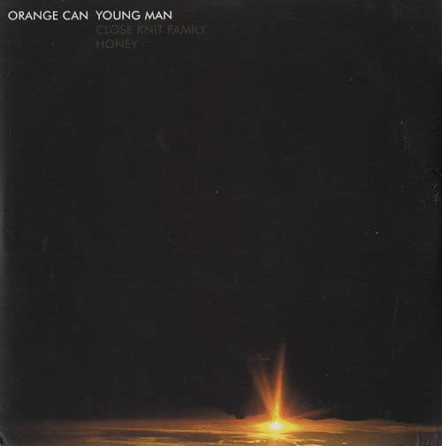Young Man by Orange Can