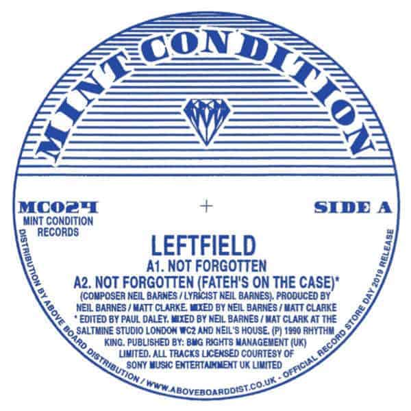 Not Forgotten by Leftfield