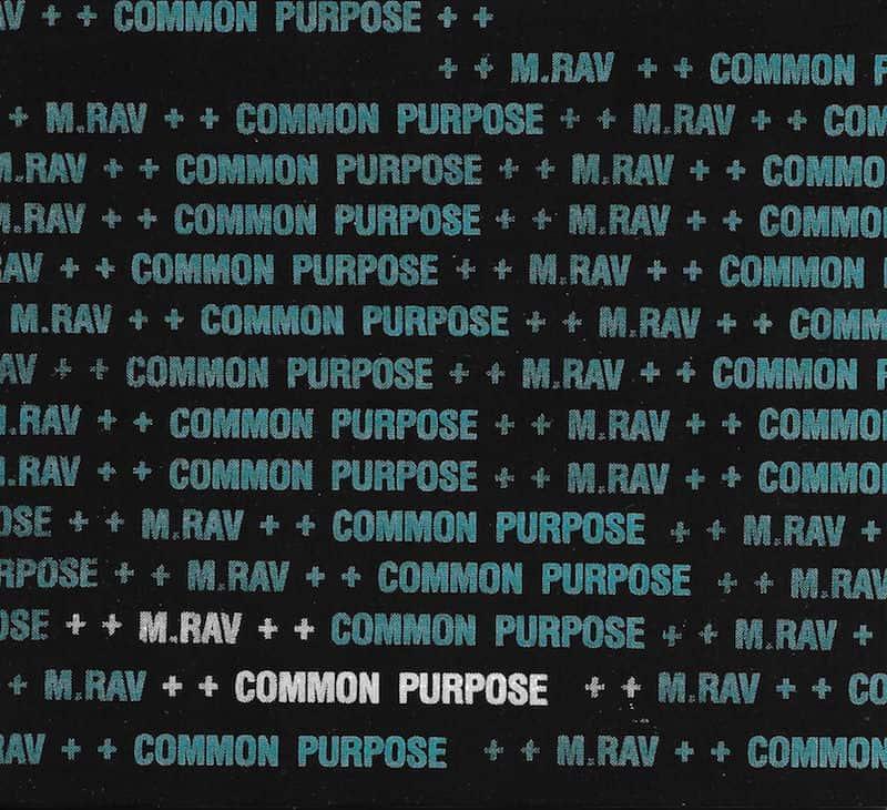 Common Purpose by M.Rav