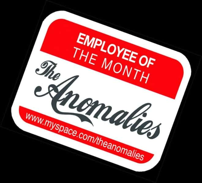 Employee Of The Month by The Anomalies