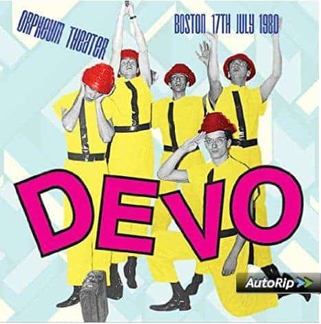 Orpheum Theater 17th July 1980 by Devo