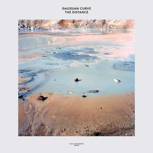 The Distance by Gaussian Curve
