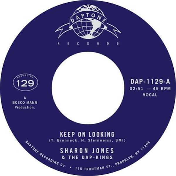 Keep On Looking / Natural Born Lover – Instrumental (With Strings) by Sharon Jones & The Dap-Kings