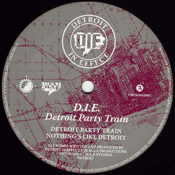 Detroit Party Train by D.I.E.