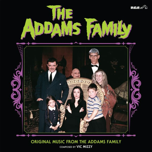 Vic Mizzy - The Addams Family: Original Music From The Addams Family