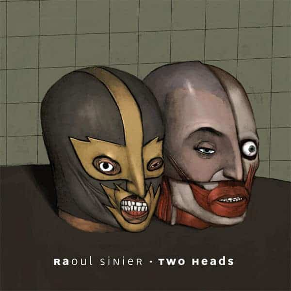 Two Heads by Raoul Sinier