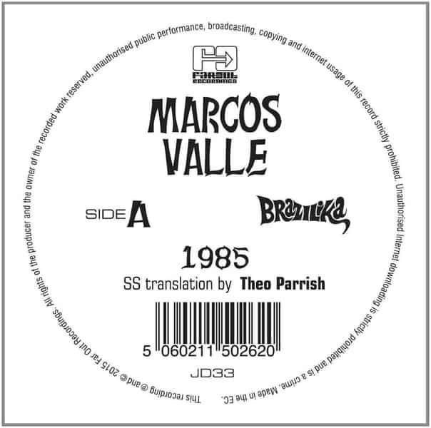 1985 / Prefixo - Theo Parrish & Daz I Kue Remixes by Marcos Valle