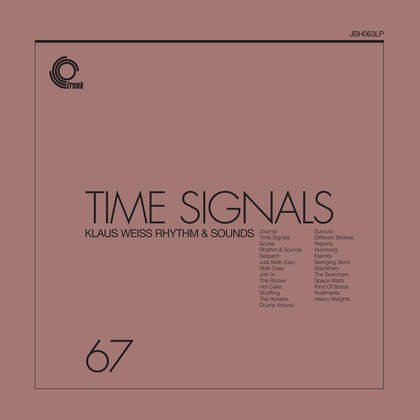 Time Signals by Klaus Weiss Rhythm & Sounds