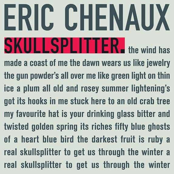Skullsplitter by Eric Chenaux