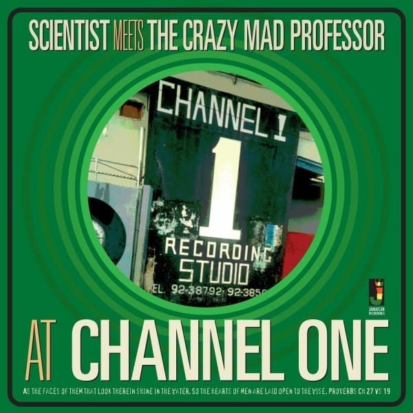 At Channel One by Scientist Meets The Crazy Mad Professor