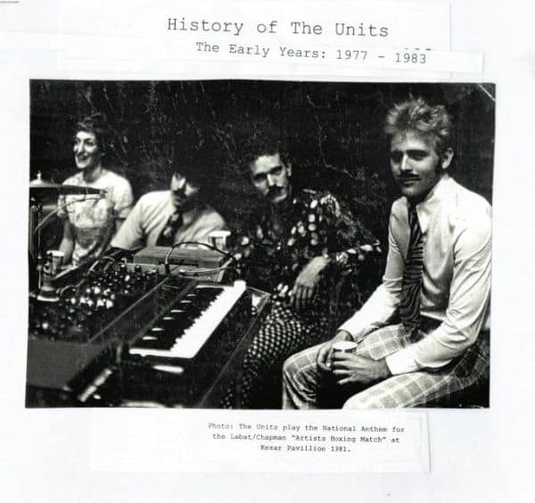 History of The Units by Units