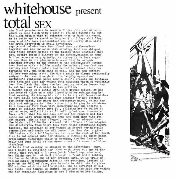 Total Sex by Whitehouse