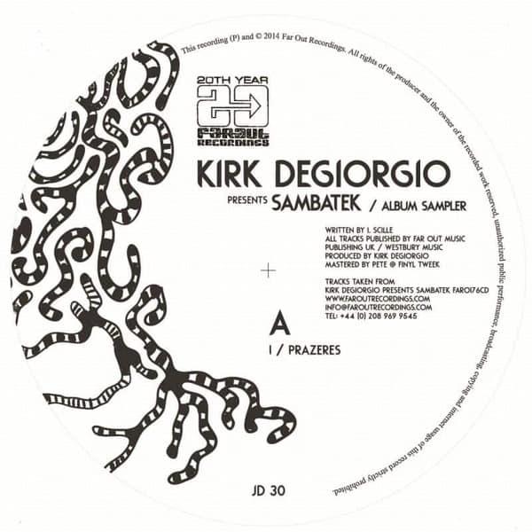 Sambatek - Album Sampler by Kirk Degiorgio