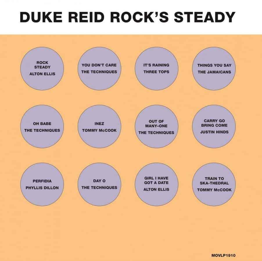 Duke Reid Rock's Steady by Various