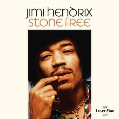 Stone Free / Lover Man by Jimi Hendrix
