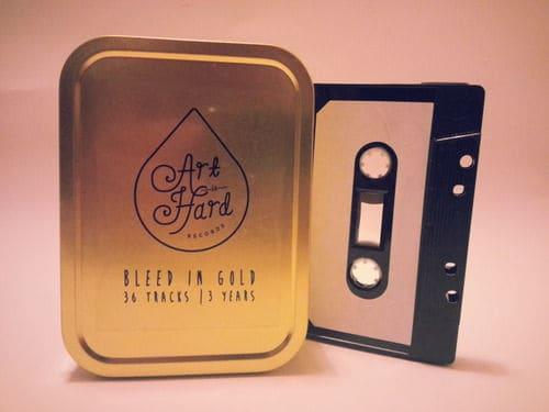 Bleed in Gold - The First Three years of Art is Hard by Various