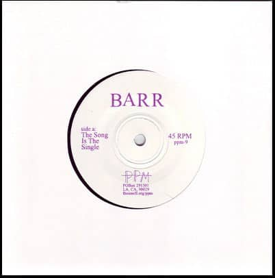 The Song is The Single by Barr