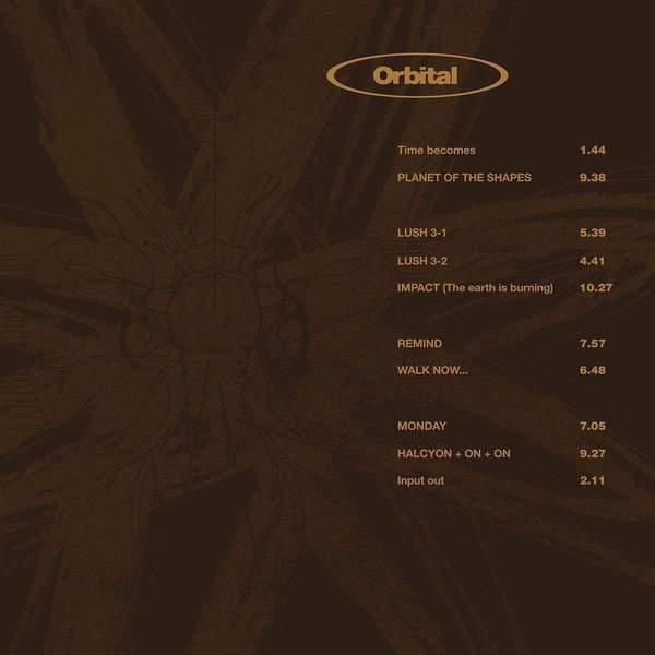 Orbital 2 (Brown Album) by Orbital