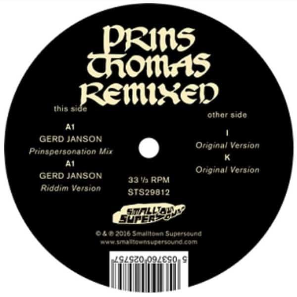 Gerd Janson Remixes by Prins Thomas