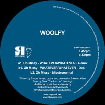 Oh Missy (Whatever / Whatever Mixes) by Woolfy