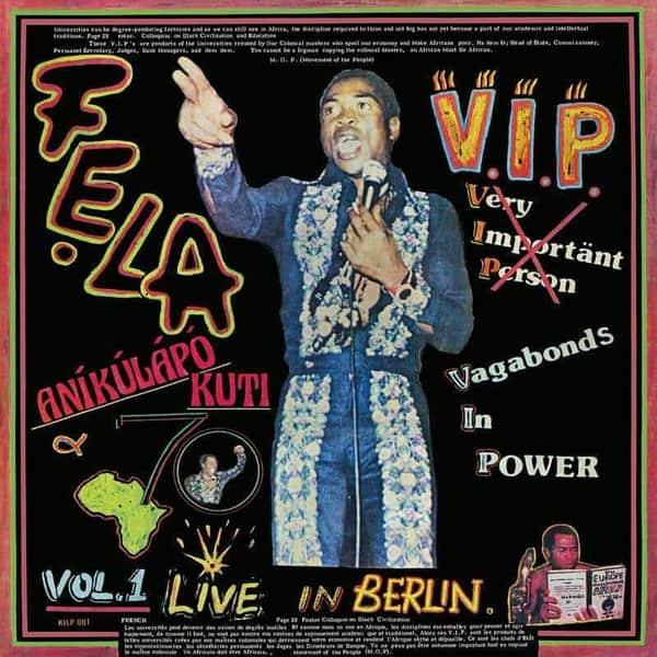 V.I.P. (Vagabonds In Power) by Fela Kuti & Afrika 70