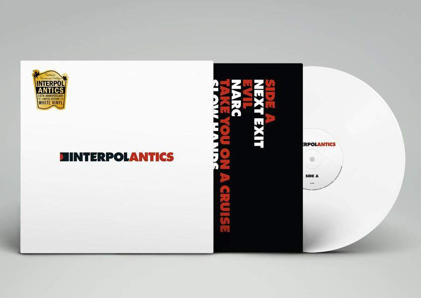Antics - Revisionist History Edition by Interpol