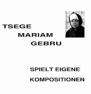 Spielt Eigene Komposition by Tsege Mariam Gebru