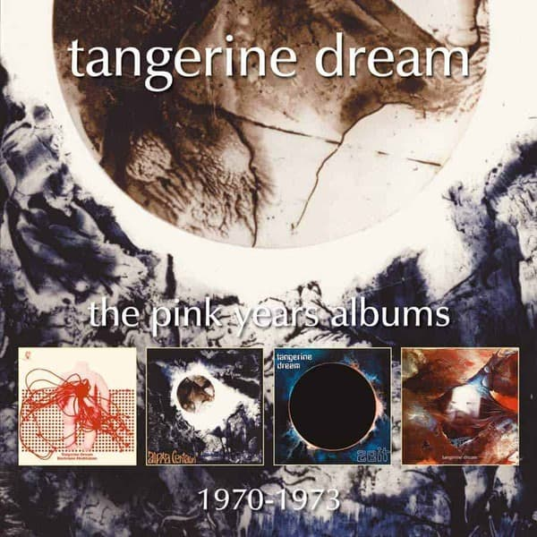 The Pink Years Albums 1970-1973 by Tangerine Dream