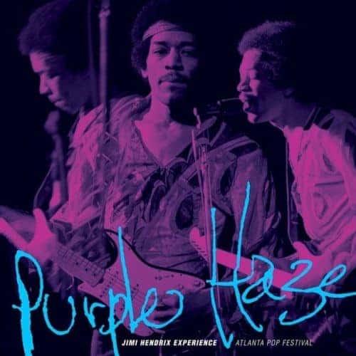 Purple Haze / Freedom by The Jimi Hendrix Experience