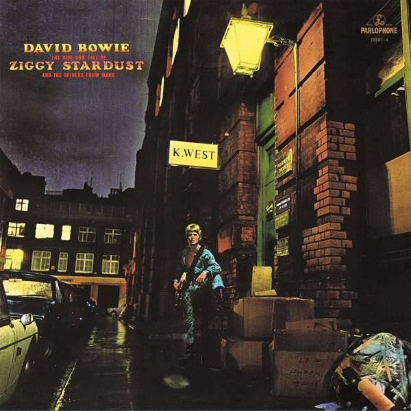 The Rise and Fall of Ziggy Stardust and The Spiders From Mars by David Bowie