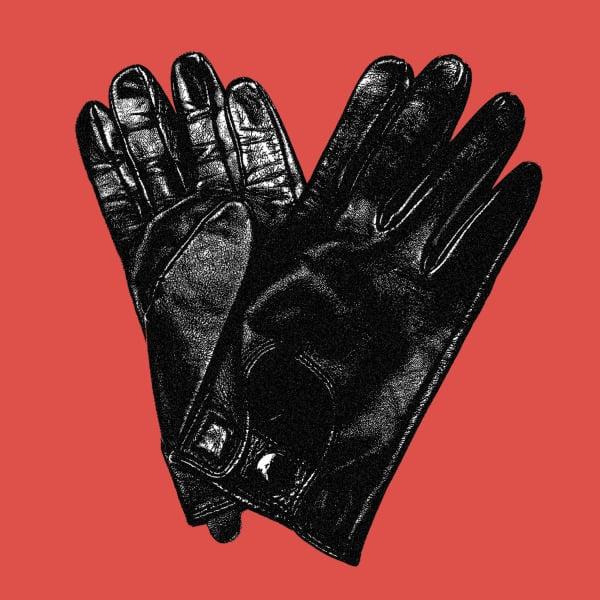 Shiny Black Leather by Arnaud Rebotini